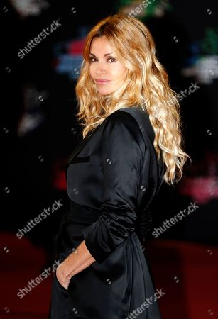 Ingrid Chauvin arrives for the 21st NRJ Music Awards at the Palais des Festivals in Cannes, France, 09 November 2019.
