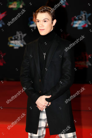 Stock Photo of Lenni-Kim arrives for the 21st NRJ Music Awards at the Palais des Festivals in Cannes, France, 09 November 2019.