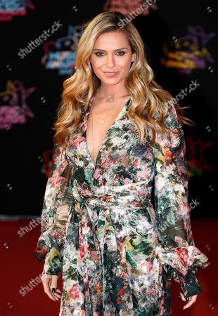 French TV host Clara Morgane arrives for the 21st NRJ Music Awards at the Palais des Festivals in Cannes, France, 09 November 2019.