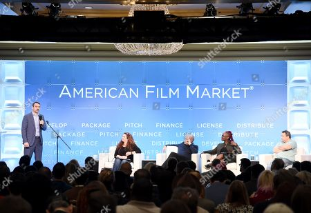 Editorial photo of Pitching Essentials: The 2-Minute Pitch, American Film Market 2019, Fairmont Hotel, Santa Monica, Los Angeles, USA - 09 Nov 2019