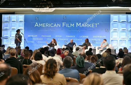 Lee Jessup, Screenwriting Career Consultant & Coach, Cassian Elwes, Producer, Elevated, Effie Brown, Producer, Duly Noted, Inc., Tobin Armbrust, President, Worldwide Production & Acquisitions, Virgin Produced