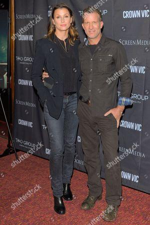 Stock Photo of Bridget Moynahan and Thomas Jane