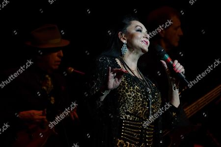 Award winning country music legend Crystal Gayle during her performance for the Veterans Day concert at the historic Granada Theatre