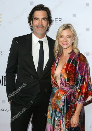 Stock Picture of Carter Oosterhouse and Amy Smart