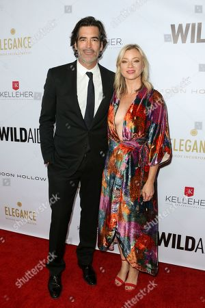 Stock Image of Carter Oosterhouse and Amy Smart