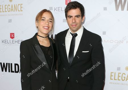 Vittoria Buraschi and Eli Roth