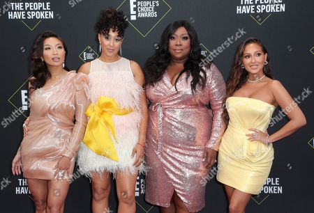 Jeannie Mai, Tamera Mowry-Housley, Loni Love and Adrienne Houghton