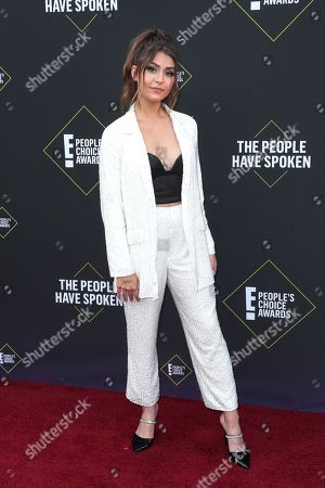 Editorial photo of 45th Annual People's Choice Awards, Arrivals, Barker Hanger, Los Angeles, USA - 10 Nov 2019