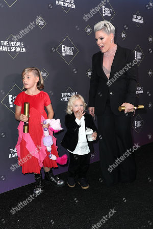 Pink - People's Champion Award with Willow Sage Hart and Jameson Moon Hart
