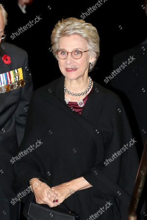 Birgitte, Duchess of Gloucester attends the annual Royal British Legion Festival of Remembrance at the Royal Albert Hall