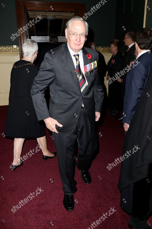 Duke of Gloucester attends the annual Royal British Legion Festival of Remembrance at the Royal Albert Hall