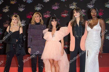 Angele, Vitaa, Jenifer, Clara Luciani and Aya Nakamura