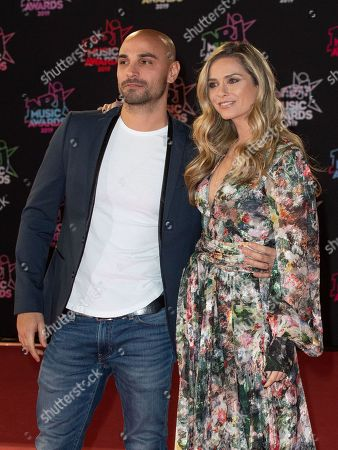 Jeremy Olivier and Clara Morgane