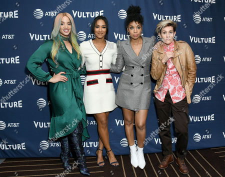 Dascha Polanco, Candice Patton, Susan Kelechi Watson and Cameron Esposito