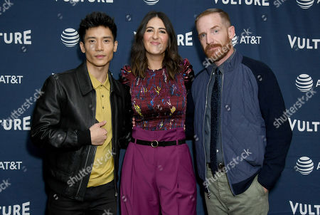 Stock Photo of Manny Jacinto, D'Arcy Carden and Marc Evan Jackson
