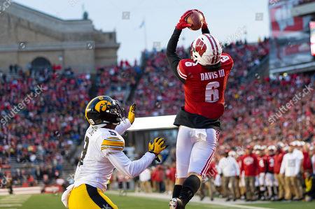 Editorial photo of NCAA Football Iowa vs Wisconsin, Madison, USA - 09 Nov 2019