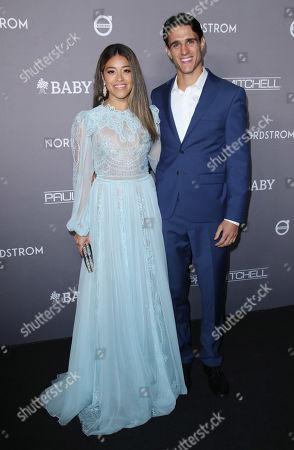 Stock Photo of Gina Rodriguez and husband Joe LoCicero