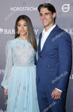 Stock Picture of Gina Rodriguez and husband Joe LoCicero
