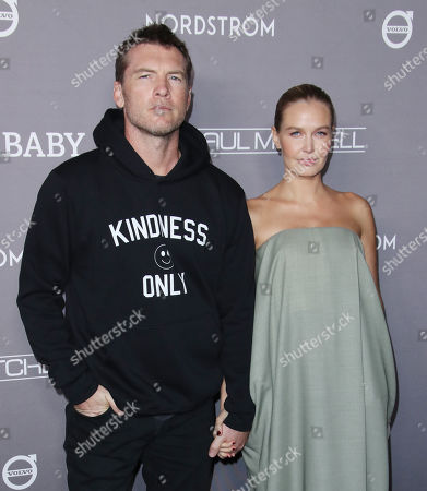 Stock Photo of Sam Worthington and Lara Bingle