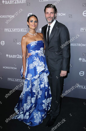 Stock Photo of Jordana Brewster and Andrew Form