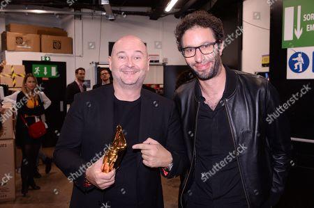 Sebastien Cauet and Manu Levy