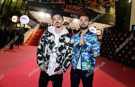 Stock Photo of Florian Ordonez & Oli - Florian Ordonez and Olivio Ordonez
