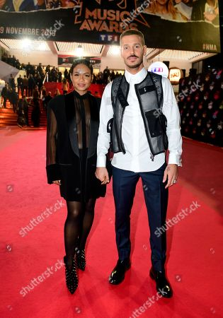 Stock Image of Christina Milian and M Pokora