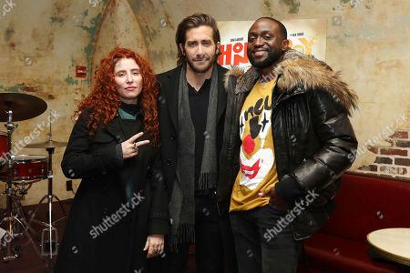 Alma Har'el (Director), Jake Gyllenhaal and Byron Bowers