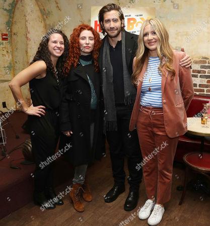 Rebecca Cammarata (Producer), Alma Har'el (Director), Jake Gyllenhaal and Daniela Taplin Lundberg (Producer)