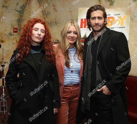 Alma Har'el (Director), Daniela Taplin Lundberg (Producer) and Jake Gyllenhaal