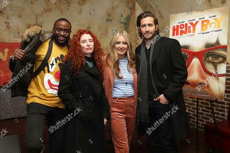Byron Bowers, Alma Har'el (Director), Daniela Taplin Lundberg (Producer) and Jake Gyllenhaal