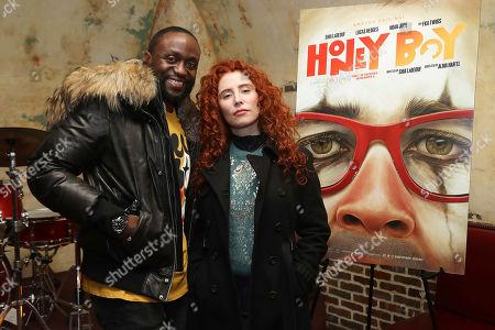 Byron Bowers and Alma Har'el (Director)