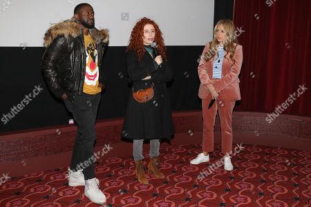 Byron Bowers, Alma Har'el (Director) and Daniela Taplin Lundberg (Producer)