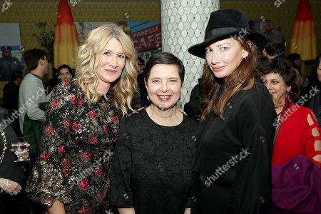 Laura Dern, Isabella Rossellini and Jill Vedder