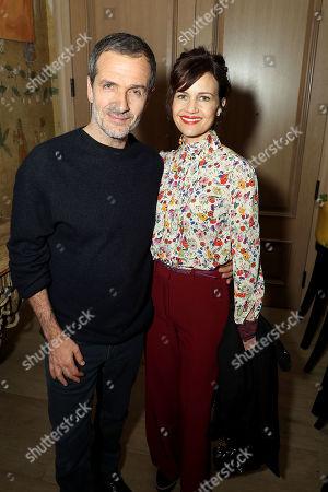 David Heyman (Producer) and Carla Gugino