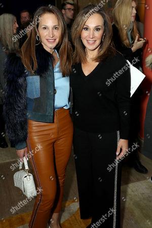 Stock Picture of Elaina Scotto and Rosanna Scotto