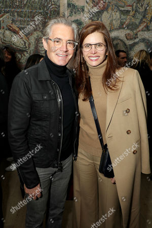 Kyle Maclachlan and Desiree Gruber