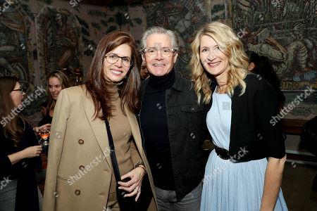 Desiree Gruber, Kyle Maclachlan and Laura Dern