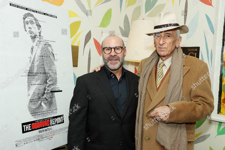 Scott Z Burns (Producer, Director) and Gay Talese