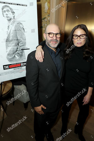 Stock Photo of Scott Z Burns (Producer, Director) and Maura Tierney