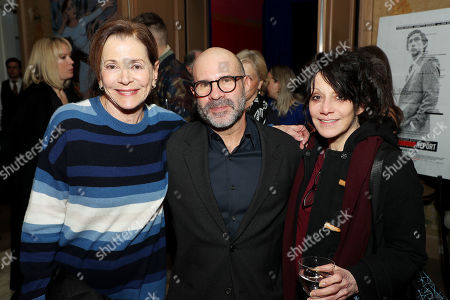 Jessica Walter, Scott Z Burns (Producer, Director) and Amy Heckerling