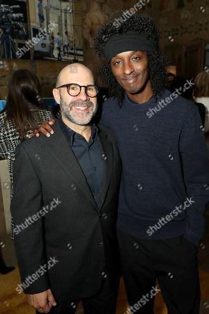 Scott Z Burns (Producer, Director) and K'naan Warsame