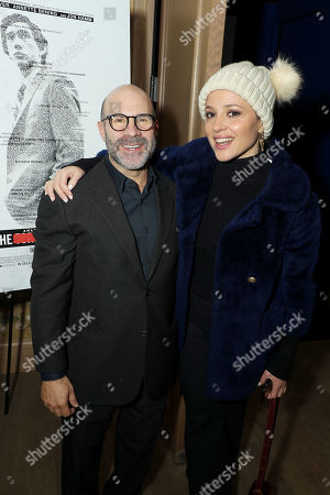 Scott Z Burns (Producer, Director) and Margarita Levieva