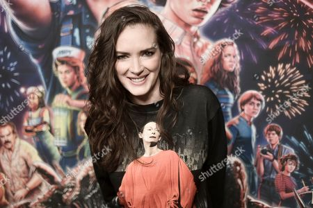 "Stock Picture of Winona Ryder attends the ""Stranger Things"" season 3 screening event at Linwood Dunn Theater, in Los Angeles"