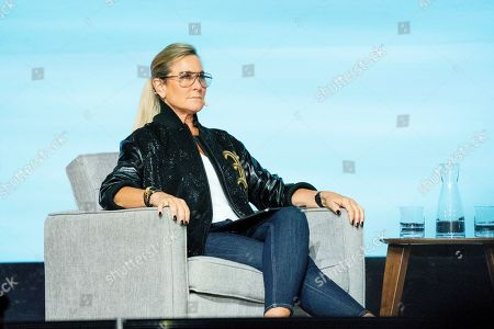 Angela Ahrendts seen on day two of Summit LA19 in Downtown Los Angeles, in Los Angeles
