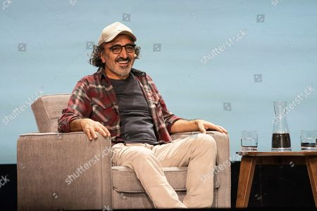 Stock Image of Hamdi Ulukaya seen on day two of Summit LA19 in Downtown Los Angeles, in Los Angeles