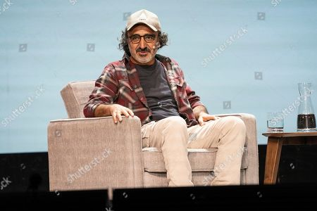 Hamdi Ulukaya seen on day two of Summit LA19 in Downtown Los Angeles, in Los Angeles