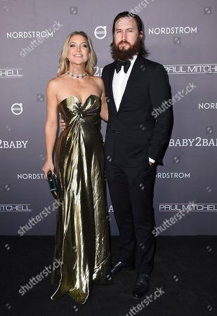 Kate Hudson, Danny Fujikawa. Kate Hudson and Danny Fujikawa arrive at the 2019 Baby2Baby Gala, in Culver City, Calif