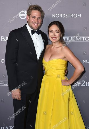 Lindsay Price, Curtis Stone. Lindsay Price, right, and Curtis Stone arrive at the 2019 Baby2Baby Gala, in Culver City, Calif