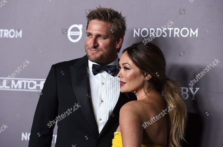 Lindsay Price, Curtis Stone. Curtis Stone and Lindsay Price arrive at the 2019 Baby2Baby Gala, in Culver City, Calif